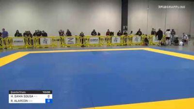 HIAGO GAMA SOUSA vs RICHARD ALARCON 2020 IBJJF Pan No-Gi Championship