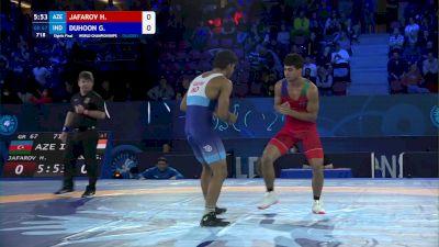67 kg 1/8 Final - Hasrat Jafarov, Azerbaijan vs Gaurav Duhoon, India