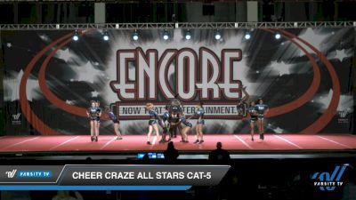 Cheer Craze All Stars Cat-5 [2021 L5 Junior - D2 Day 2] 2021 Encore Championships: Charlotte Area DI & DII