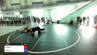 138 lbs 2nd Place - Julian Garnica, Team G vs Spencer Parry, Ylhs