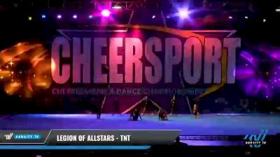 Legion of Allstars - TNT [2021 L1 Tiny - Novice - Restrictions Day 1] 2021 CHEERSPORT National Cheerleading Championship