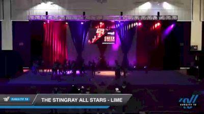 The Stingray All Stars - Lime [2021 L3 Senior - Medium Day 1] 2021 The American Royale DI & DII