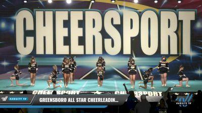 Greensboro All Star Cheerleading - Cobalt [2021 L1 Junior Day 1] 2021 CHEERSPORT: Charlotte Grand Championship