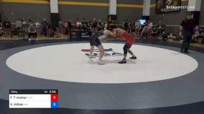 65 kg Prelims - Frankie Tal-shahar, Florida vs Reed Abbas, Viking Wrestling Club (IA)