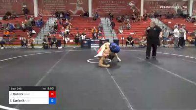 86 kg Prelims - Jaden Bullock, Cliff Keen Wrestling Club vs Travis Stefanik, New Jersey RTC