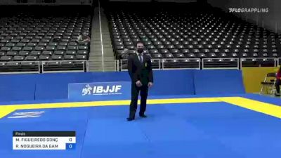 MARCELO FIGUEIREDO GONÇALVES vs RAFAEL NOGUEIRA DA GAMA 2021 World IBJJF Jiu-Jitsu No-Gi Championship