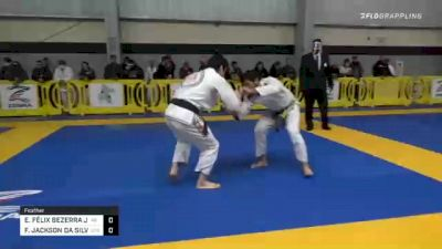 SPENSER ANTHONIN GILLIAM vs HUGO MAYER LIMA 2020 American National IBJJF Jiu-Jitsu Championship