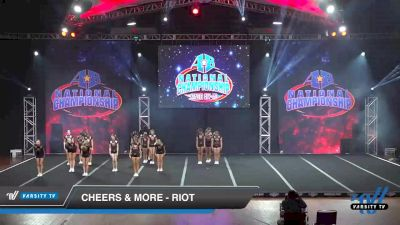 Cheers & More - Riot [2019 Junior 5 Day 2] 2019 America's Best National Championship