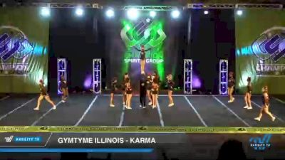 GymTyme Illinois - Karma [2021 L6 Junior Coed Day 2] 2021 CSG Super Nationals DI & DII