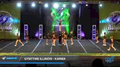 GymTyme Illinois - Karma [2021 L6 Junior Coed Day 2] 2021 CSG Super Nationals DI & DII