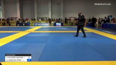 VICTOR SILVERIO SANTOS vs ALAN SANCHEZ PEREZ 2021 American National IBJJF Jiu-Jitsu Championship