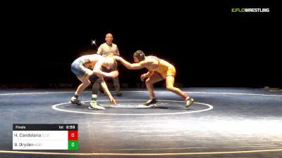 133 lbs Final - Hector Candelaria, Ellsworth vs Boo Dryden, Northeast Oklahoma