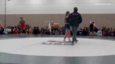 62 kg Rr Rnd 2 - Ana Luciano, FL vs Emma Bruntil, WA