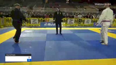 MATTHEW KRAMER vs EVAN MARCUS DELL 2020 World Master IBJJF Jiu-Jitsu Championship