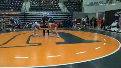 143 lbs Prelims - Ashley Ikner, Cumberlands vs Glenda Veiga, Indiana Tech