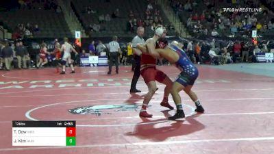 174 lbs Consolation - Tyler Dow, Wisconsin vs Joshua Kim, Harvard