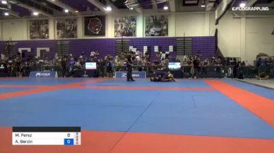Michael Perez vs Anton Berzin 2018 Pan Jiu-Jitsu IBJJF No Gi Championship