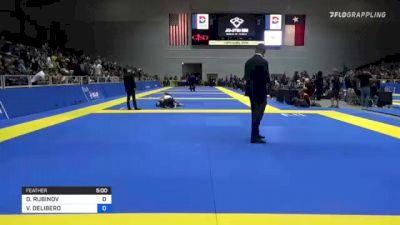 DANIEL RUBINOV vs VICTOR DELIBERO 2021 World IBJJF Jiu-Jitsu No-Gi Championship