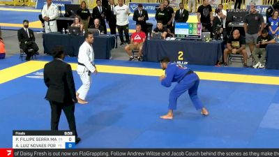 Andre Porfirio vs Pedro Marinho, Medium-heavyweight Final, 2021 IBJJF Pan Championship