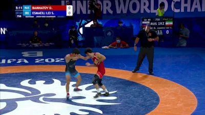 60 kg Final - Dinislam Bammatov, Russia vs Saeid Morad Esmaeili Leivesi, Iran