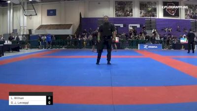 Lucas Wilhan vs Garret J. Lavaggi 2019 Pan IBJJF Jiu-Jitsu No-Gi Championship
