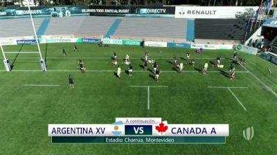 2018 APC Rd 2: Argentina XV vs Canada A