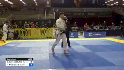 GABRIEL SALLES MUNIZ ALMEIDA vs HENRIQUE NÓBREGA E SILVA 2020 Pan Jiu-Jitsu IBJJF Championship
