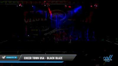 Cheer Town USA - Black Blaze [2021 L3 Junior - D2 - Small Day 2] 2021 ACP Cash Bash Championship