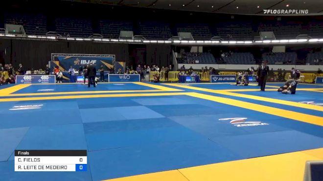 CHAD FIELDS vs RODRIGO LEITE DE MEDEIROS 2019 World IBJJF Jiu-Jitsu No-Gi Championship