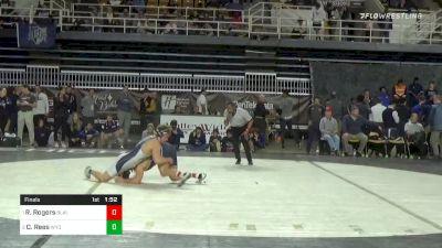 182 lbs Final - Rylan Rogers, Blair Academy vs Cole Rees, Wyoming Seminary