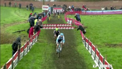 Laurens Sweeck Crashes At Jaarmarktcross