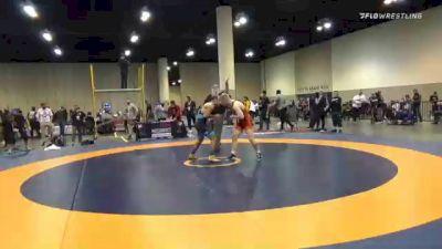 67 kg 3rd Place - Nolan Baker, New York Athletic Club vs Lenny Merkin, NYAC/NJRTC