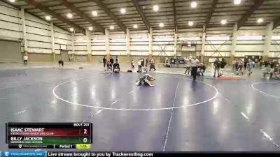 106 lbs 2nd Place Match - Billy Jackson, Redmond High School vs Isaac Stewart, Frenchtown Wrestling Club