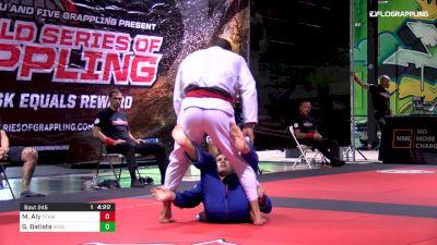 Mahamed Aly vs Gustavo Batista World Series of Grappling #2 Part 1