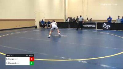 106 lbs Prelims - Clayton Foster, Central Mountain vs Tyler Chappell, Seneca Valley