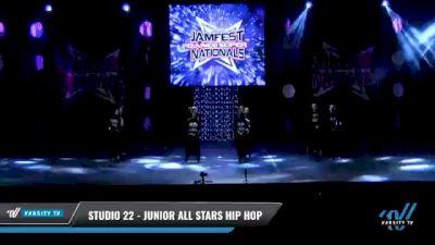 Studio 22 - Junior All Stars Hip Hop [2021 Junior - Hip Hop - Small Day 2] 2021 JAMfest: Dance Super Nationals