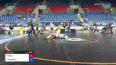 160 lbs Consi Of 16 #1 - Tyson Resko, Oregon vs Luke Masterton, North Carolina