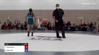 59 kg Rr Rnd 2 - Brenda Reyna, WA vs Michaela Beck, NY
