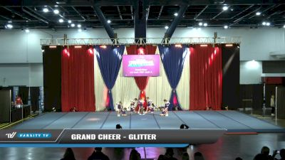 Grand Cheer - Glitter [2021 L1.1 Youth - PREP - Small - A Day 1] 2021 The American Spectacular DI & DII