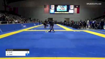 ELISABETH CLAY vs GABREILLE LIMA 2021 World IBJJF Jiu-Jitsu No-Gi Championship