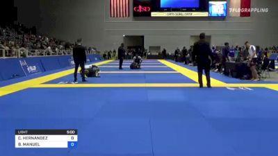 COLBY HERNANDEZ vs BRAYLON MANUEL 2021 World IBJJF Jiu-Jitsu No-Gi Championship