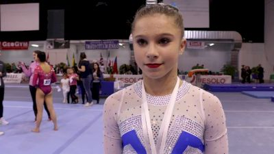 Ragan Smith On Returning To Win Silver In 2018 Debut - 2018 Jesolo