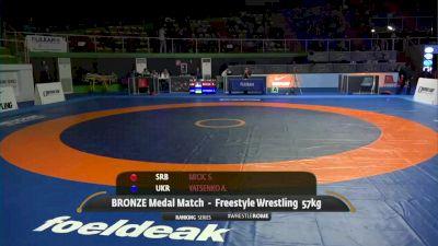 57 kg 3rd Place - Stevan Micic, SRB vs Andrii Yatsenko, UKR