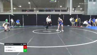 141 lbs Quarterfinal - Vinny Vespa, Hofstra vs Drew Witham, Long Island U