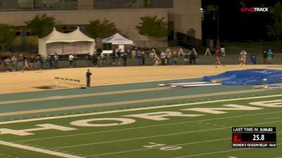 Women's 4x400m Relay, Quarterfinal 3
