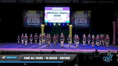 FAME All Stars - VA Beach - CULTURE [2021 L5 Senior - Large Day 2] 2021 ACDA: Reach The Beach Nationals