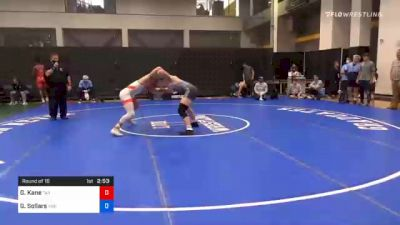 86 kg Prelims - Gavin Kane, Tar Heel Wrestling Club vs Gabe Sollars, Indiana