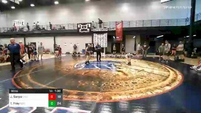 90 lbs Final - Jace Serpa, Elite Athletic Club vs Trysten Frey, Team Gotcha