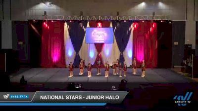 National Stars - Junior Halo [2021 L1 Junior - Novice Day 1] 2021 The American Royale DI & DII