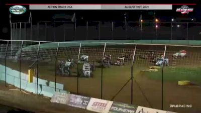 Feature Replay | 600cc Micro Sprints at Action Track USA